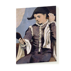 Picasso Notebook Harlequin with a mirror