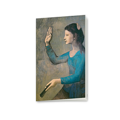 Picasso Notebook Lady with a fan