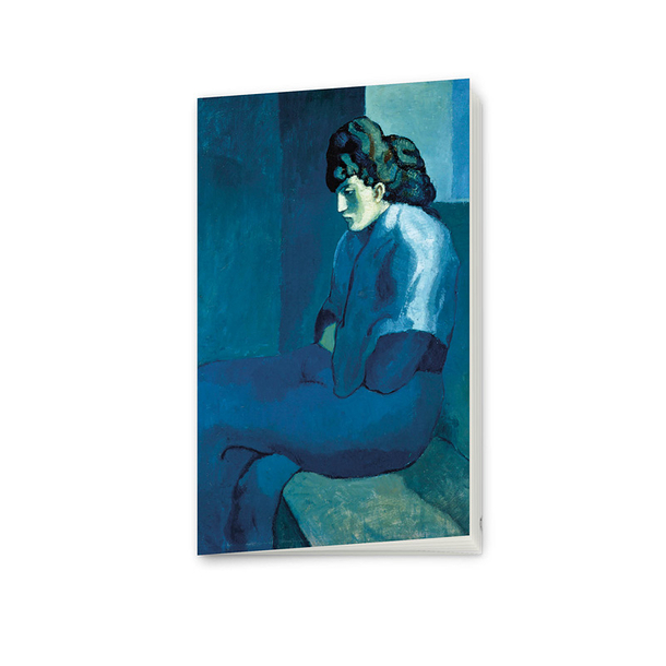 Picasso Notebook Melancholy Woman