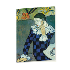 Sketchbook Picasso Seated Harlequin