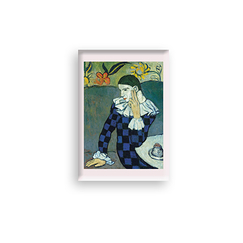 Picasso Magnet Seated Harlequin