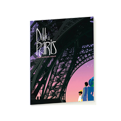 "School notebook ""Dilili in Paris"" - Pink Eiffel Tower"