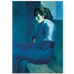 Picasso Poster Melancholy Woman