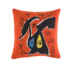 Cushion cover Miró Woman, birds, 1978