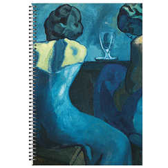 Notebook with spiral Pablo Picasso Two women at the bar