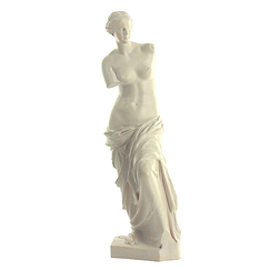 Aphrodite, known as the Venus of Milo - From 18 to 50 cm