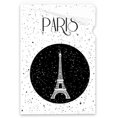 Stars Paris Clear file - A4