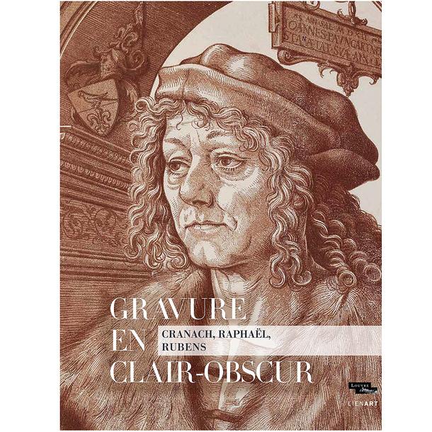 Engraving in chiaroscuro. Cranach, Raphael, Rubens