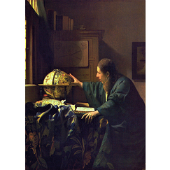The Astronomer Vermeer Poster