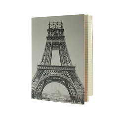 Cahier Tour Eiffel en construction