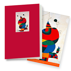 Woman, Bird and Star Miró Notebook