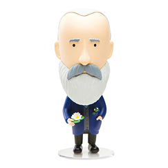 Claude Monet Figure Doll