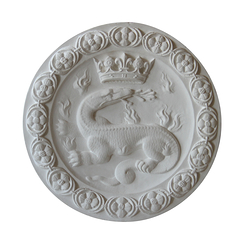 Crowned Salamander Medallion