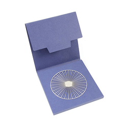 Large Solar brooch - Silvered