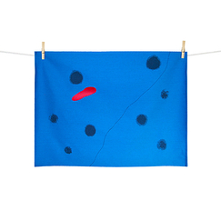 Miró Kitchen Towel - Bleu I