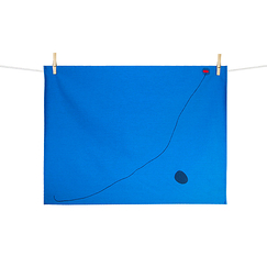 Miró Kitchen Towel - Bleu III