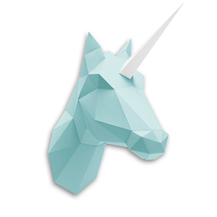 Paper Unicorn Kit - Mint