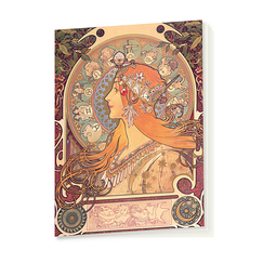 Notebook Mucha Zodiac