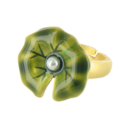 """Water Lilies"" Ring"