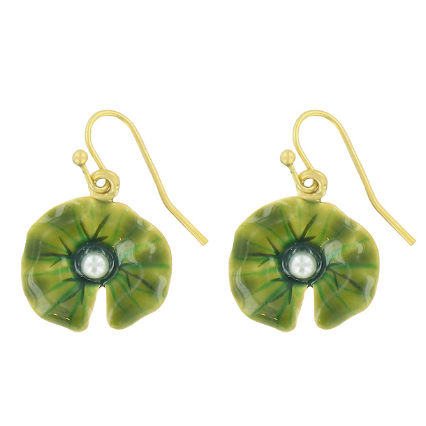 Water Lilies Earrings