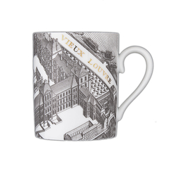 Mug Map of Turgot Louvre