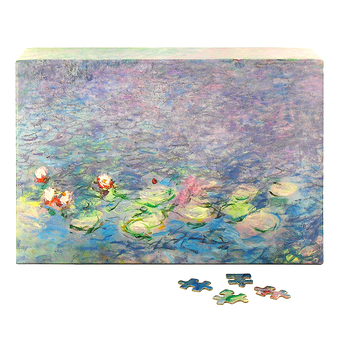 Puzzle 1000 pieces - Water lilies