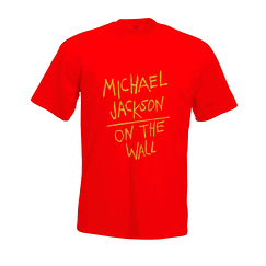 T-shirt Michael Jackson - Rouge
