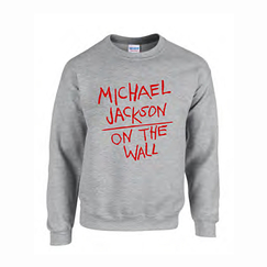 Sweat-shirt Michael Jackson - Gris