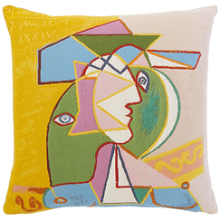 Cushion cover Picasso Woman with hat, 1934