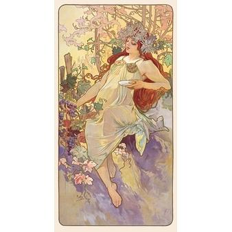 Automne - panneau décoratif de la série Les Saisons - Papier sans cadre XS