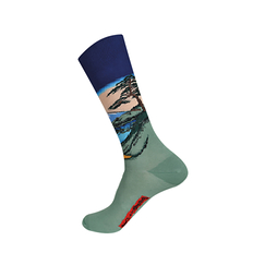 Socks Hokusai Mount Fuji
