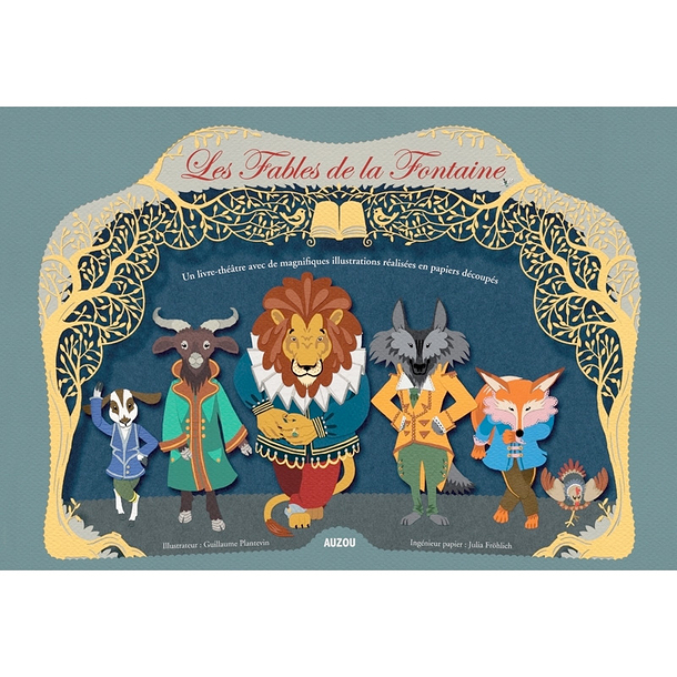 Pop Up Book Les Fables De La Fontaine