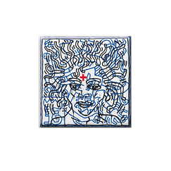 Magnet Haring Untitled