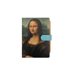Mini notebook and pencil Mona Lisa