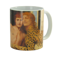 Mug Khnopff The art or The caresses