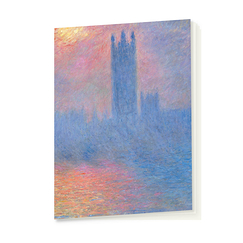 Cahier Monet Le parlement de Londres