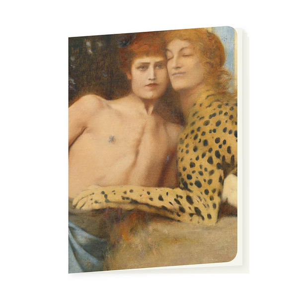 Notebook Khnopff The art or The caresses