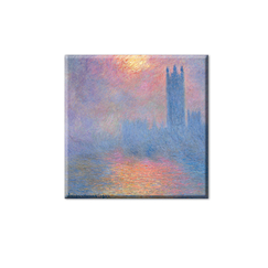 Magnet Monet Le parlement de Londres