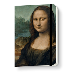 Monna Lisa Notebook with elastic
