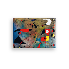 Magnet Miró Woman and birds