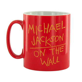 Mug Michael Jackson On the wall - Red