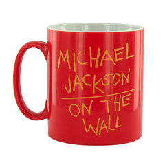 Mug Michael Jackson On the wall - Rouge