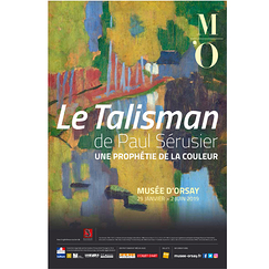 Exhibition Poster Le Talisman de Paul Sérusier