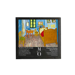 Wooden jigsaw puzzle 40 pieces - Van Gogh's room