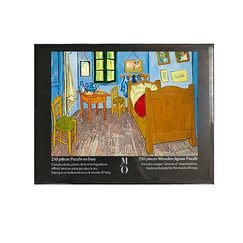 Wooden jigsaw puzzle 250 pieces - Van Gogh's room