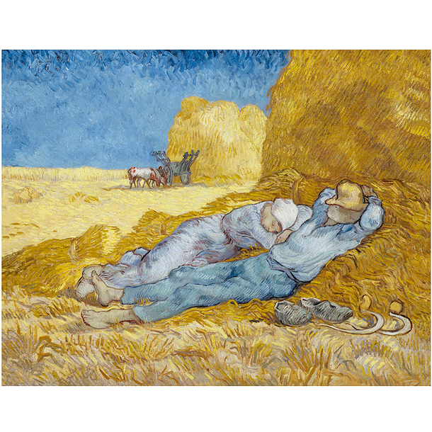 Poster Van Gogh The siesta