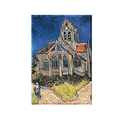 Magnet Van Gogh The Church in Auvers-sur-Oise