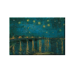 Magnet Van Gogh Starry night over the Rhône