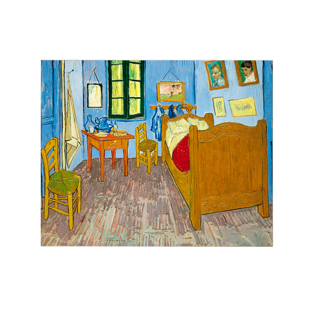 Greeting Card With Envelope Van Gogh S Bedroom Boutiques De Musees