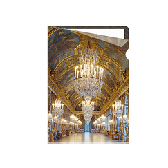 Hall of mirrors Clear file A5